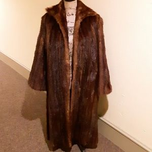 Gorgeously Vintage Real Fur Coat